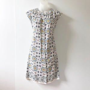 Ann Taylor Loft Shirt Dress With Pockets